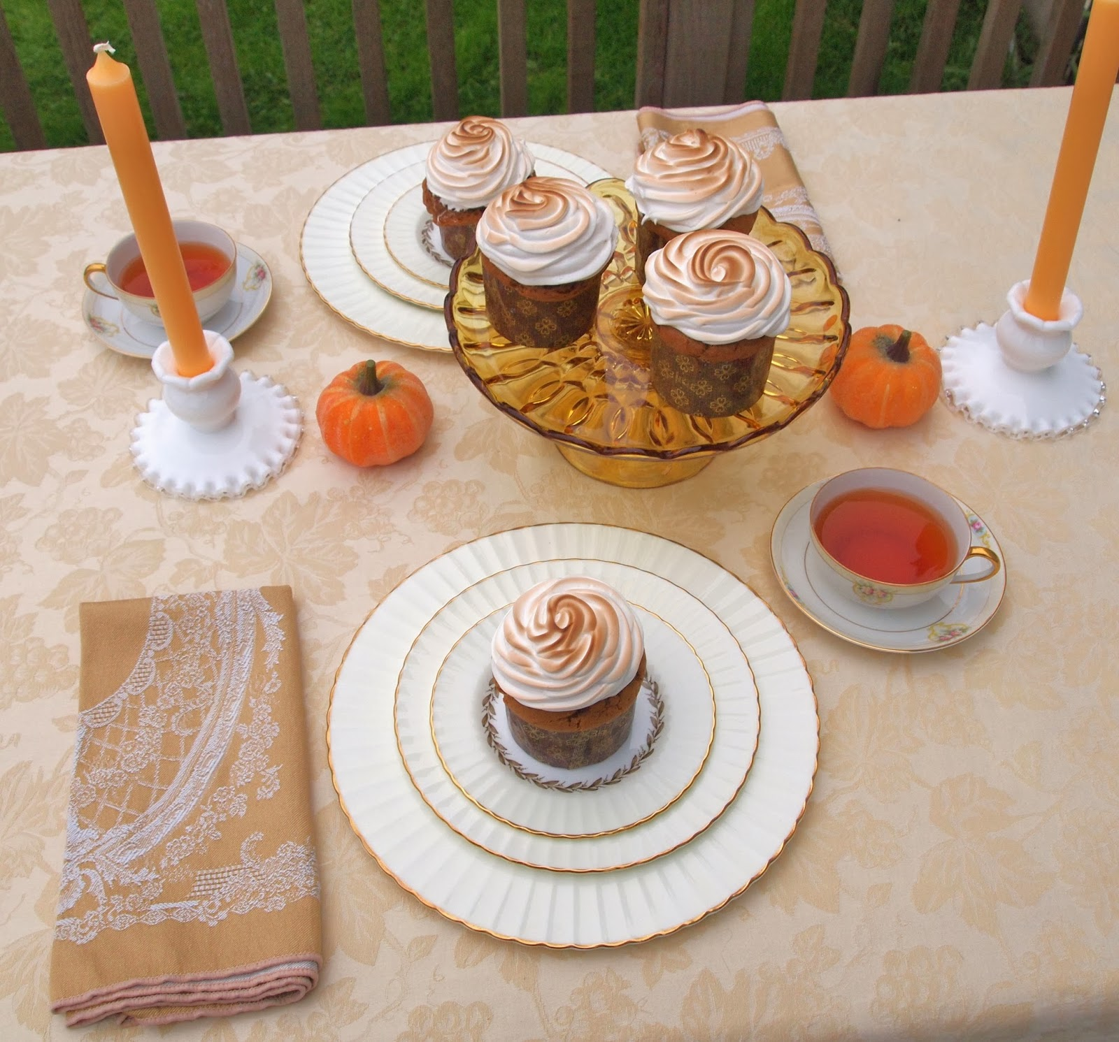 The Alchemist: Sweet Potato Cupcakes with Toasted ...