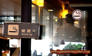 Smooking room I japanindo cute cuture