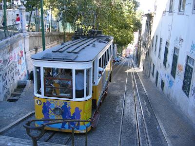 Rua Gloria tram, Lisbon