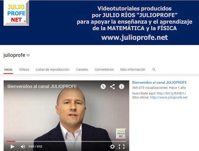 aprender-álgebra-con-177-videotutoriales-dictados-profejulio