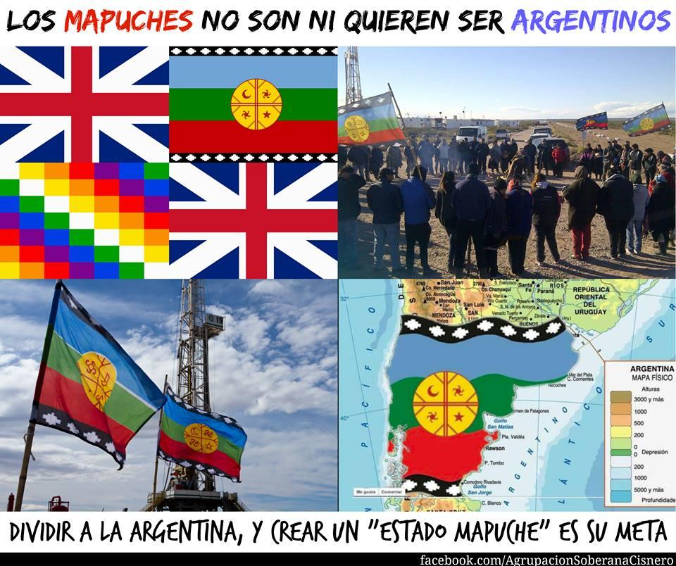 Desde Londres les dicen a los mapuches qué tienen que hacer
