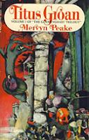 Titus Groan by Mervyn Peake book cover