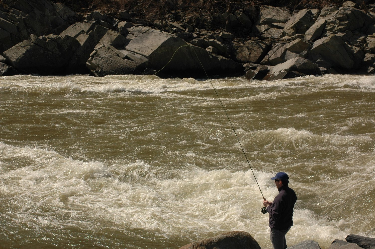 Fin 39 n feather fishing report potomac river washington dc for Washington river fishing reports