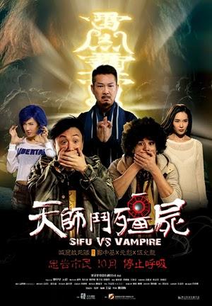 Sifu vs. Vampire 2014 poster