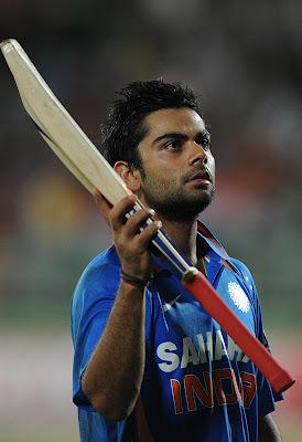 Virat Kohli Scores ODI Century Ton Wallpapers