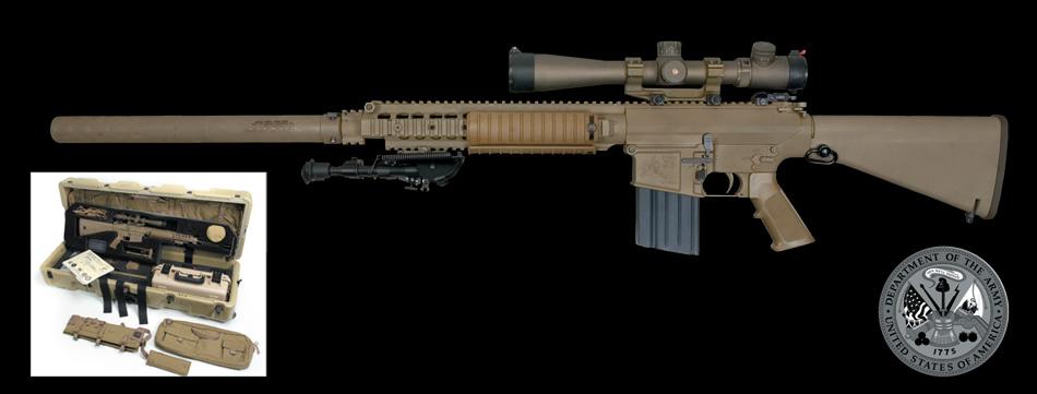 Desarrollo y Defensa: Fusil M110 SASS (Semi-Automatic ... M110 Sniper Rifle Suppressed