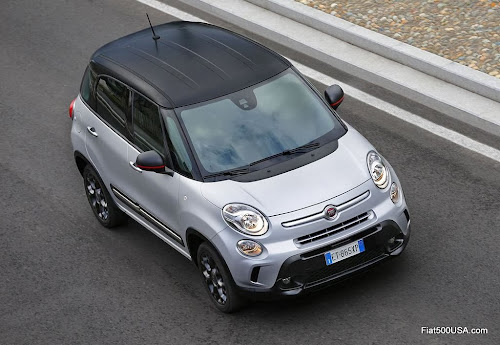 Fiat 500L Beats Edition roof