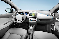Renault ZOE 2012 interior