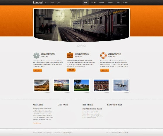 Landed HTML Template