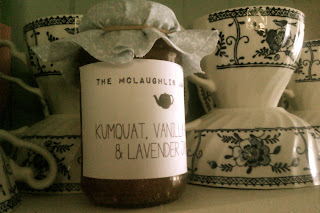 vanilla bean kumquat cumquat jam lavender tree DIY tutorial recipe
