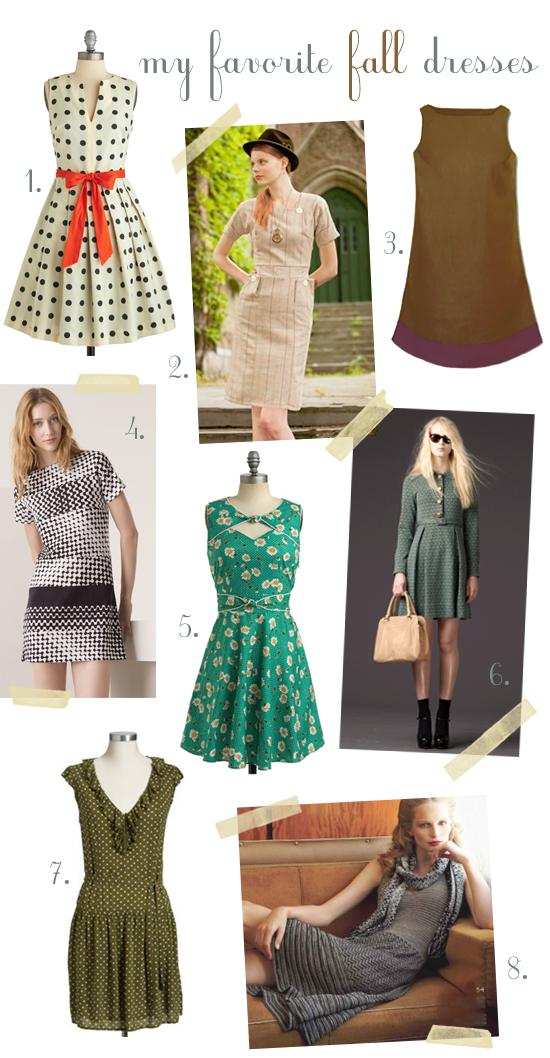 Fall 2011 Dresses
