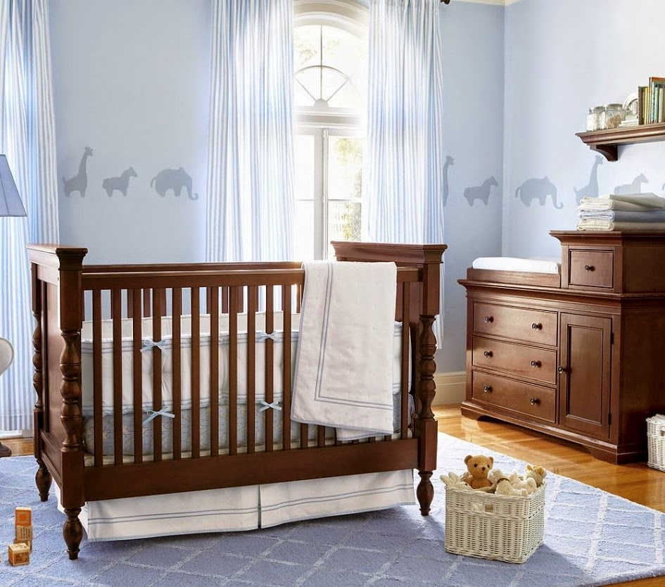 Claudia persi baby boy nursery ideas for Baby s room decoration ideas