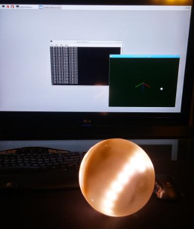 Case interativo esfêrico para Raspberry Pi 2