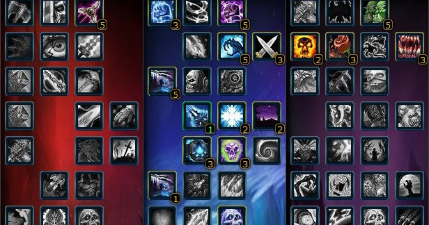 Death Knight - Blood 1-80 Leveling Talent Build & Guide (3 ...