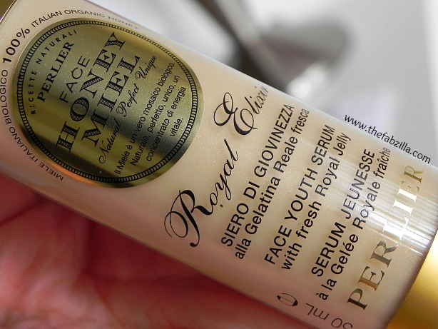 review perlier honey miel face royal elixir youth serum