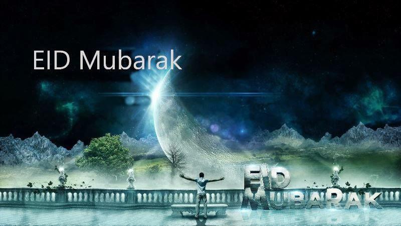 Eid Mubarak Cards 2014