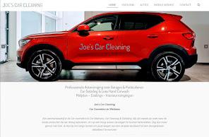 Joe's Car Cleaning mijn eigen bedrijf