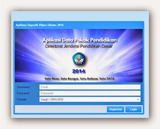 Aplikasi Dapodik Di Gunakan Untuk Pengisian Rapor
