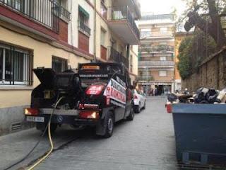Limpieza de bajantes en Mataró