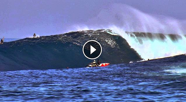 Peahi Battle Ground Jaws Turn On For The First Time of the Year1 13 15