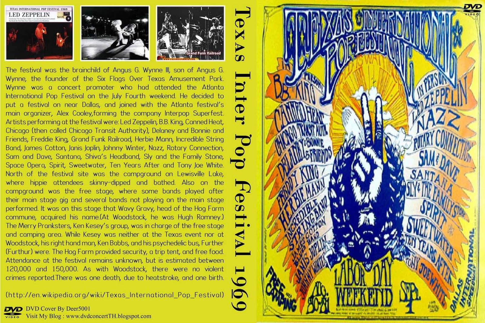Led Zeppelin Dallas Trampled Under