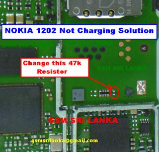 Nokia 1202 Charging Solution  Tips Dan Trik Jumper    HP