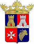 El escudo de Binéfar
