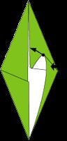Cara Membuat Origami Serangga Hijau (Buprestid)
