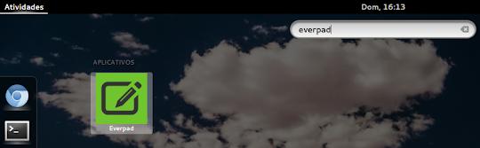 Chamando Everpad