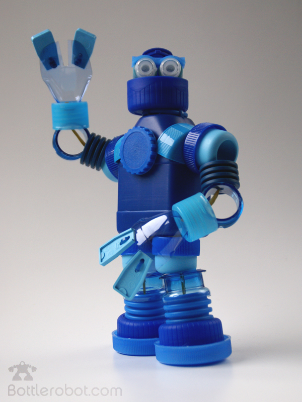 Robots Made From Plastic Bottles