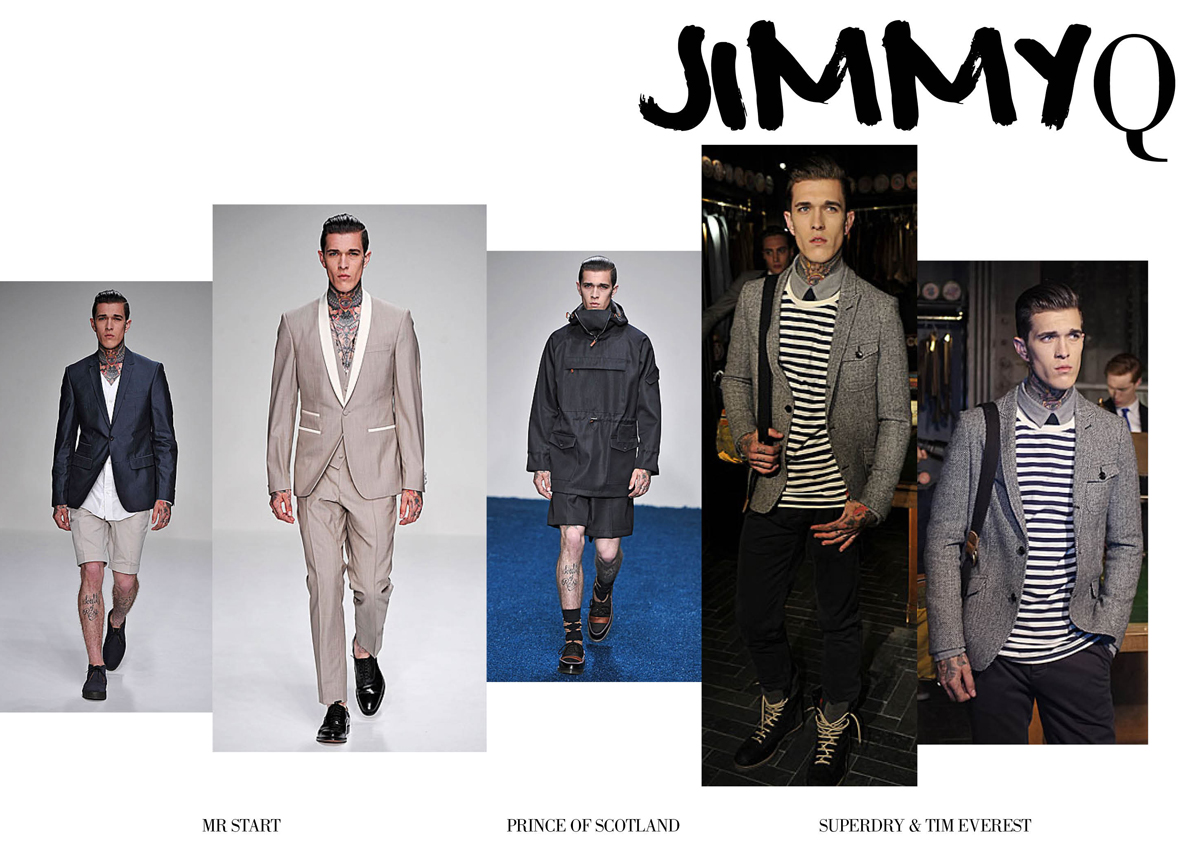 jimmy q london collections men s s 2013