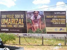 Participe da campanha: sou feliz, sou de Umarizal!