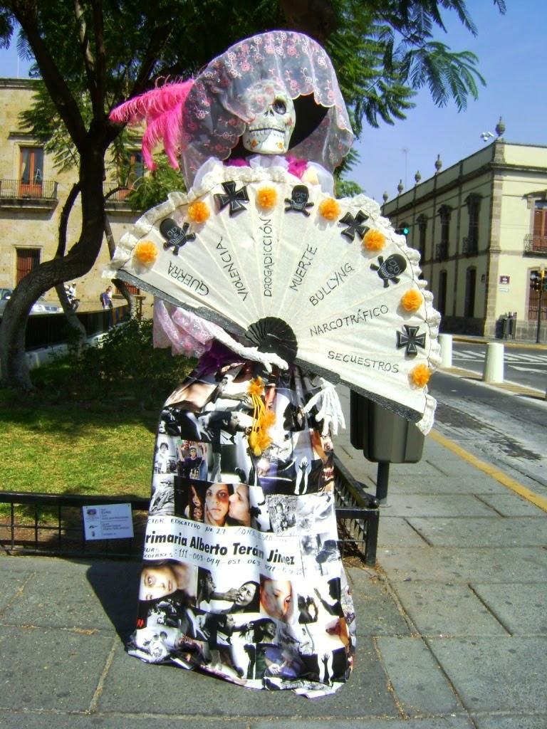 Guadalajara presenta una muestra de Catrinas por quinto año consecutivo, organizada por el Ayuntamiento de Guadalajara y la Secretaría de Educación Jalisco