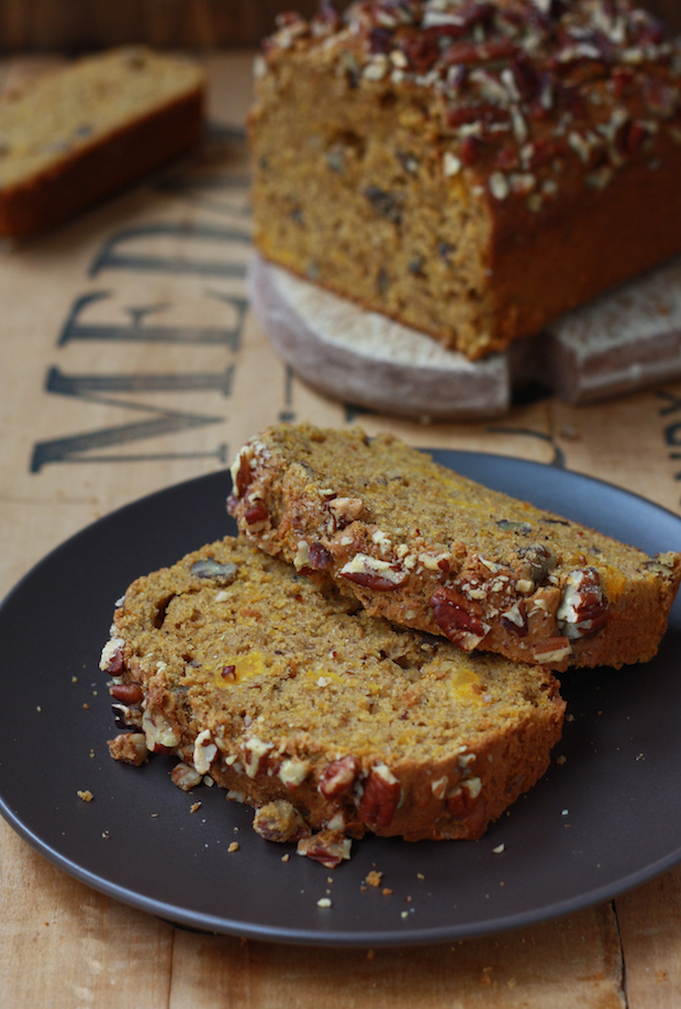 Pumpkin loaf recipe with fall spices