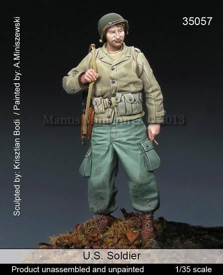 Nouveauté Mantas Figurines ... Mantis%2BMiniatures%2B35057%2BUS%2BSoldier%2B(2)