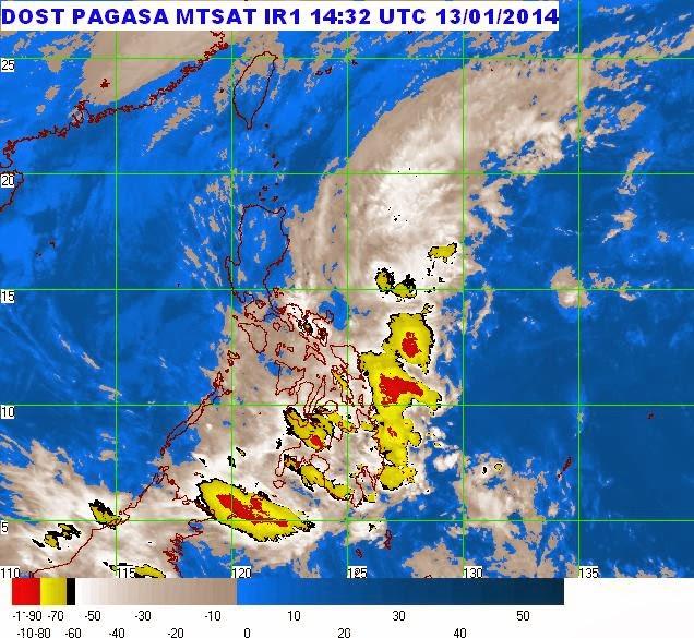 LPA still affecting Visayas, Mindanao regions