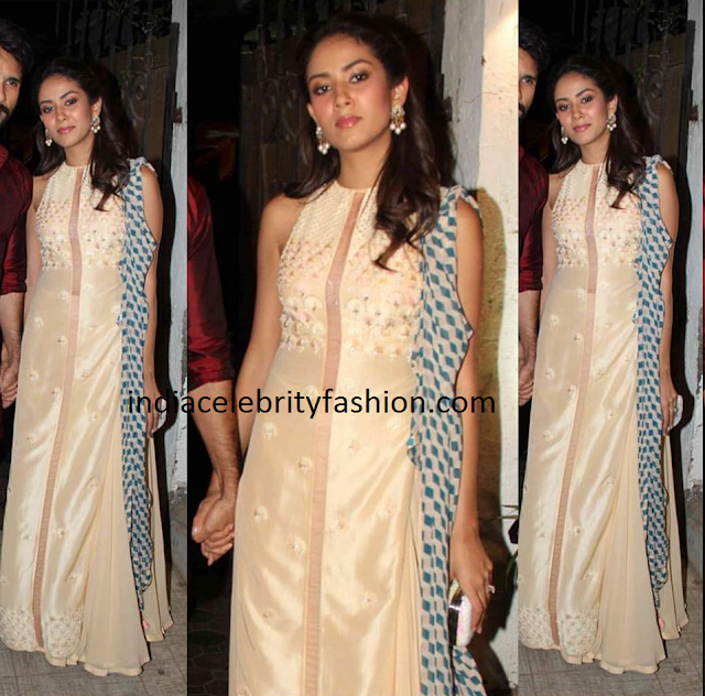 Mira Rajput in Madsam Tinzin Outfit
