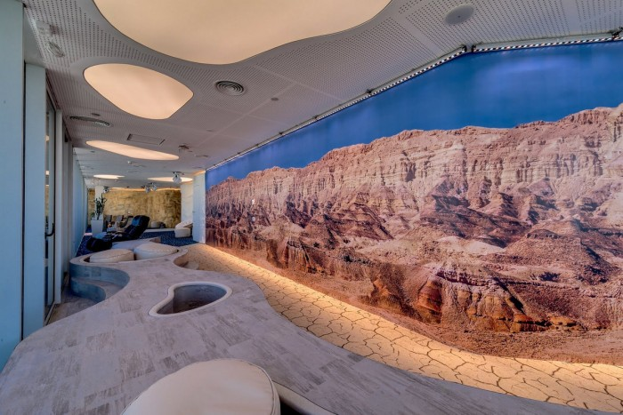 Picture of grand canyon on the wall