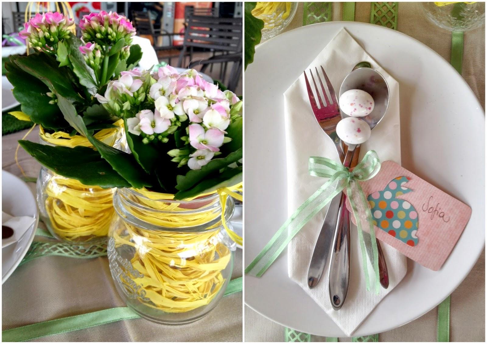 Appunti di una damigella creativa la primavera in tavola - Tavola di primavera idee ...