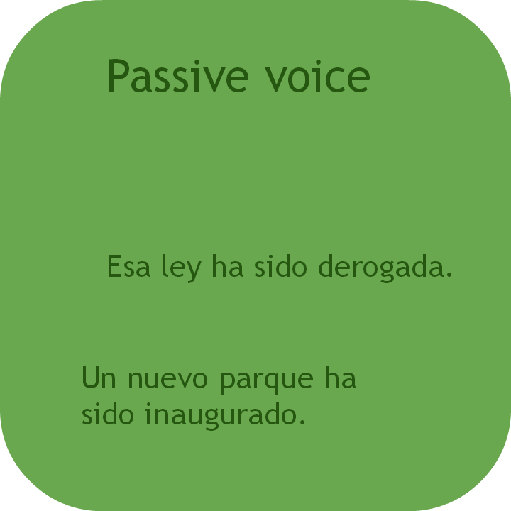 Spanish passive voice. Visit www.soeasyspanish.com