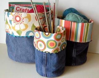 Tutoriales de objetos para organizar reciclatex
