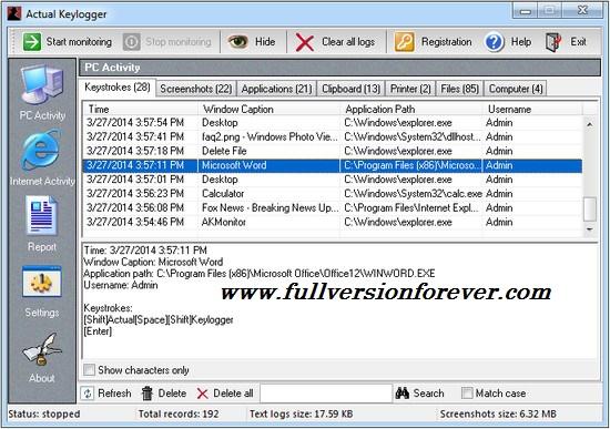 windows full keylogger crack free 10 version download