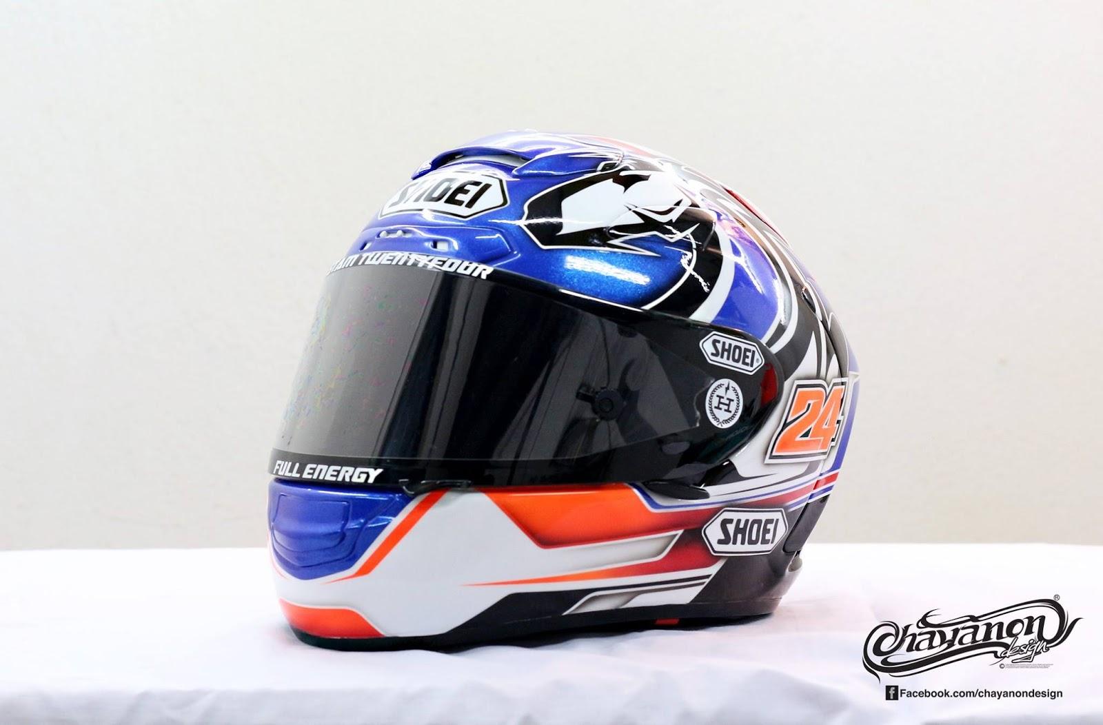 racing helmets garage shoei x spirit ii stamp 2015 by chayanon design. Black Bedroom Furniture Sets. Home Design Ideas