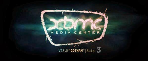 XBMC 13 GOTHAM BETA 3