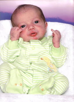 Evan 1month old