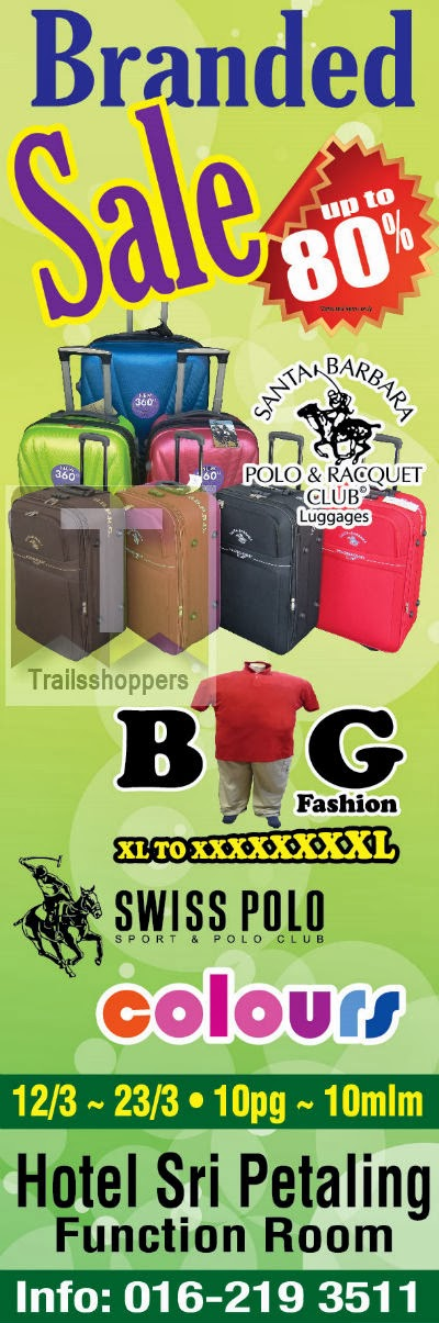 Branded Warehouse Sale Kuala Lumpur Apparels Luggages Footwear