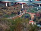 El Pont del Diable vist des de la Serra de Les Torretes