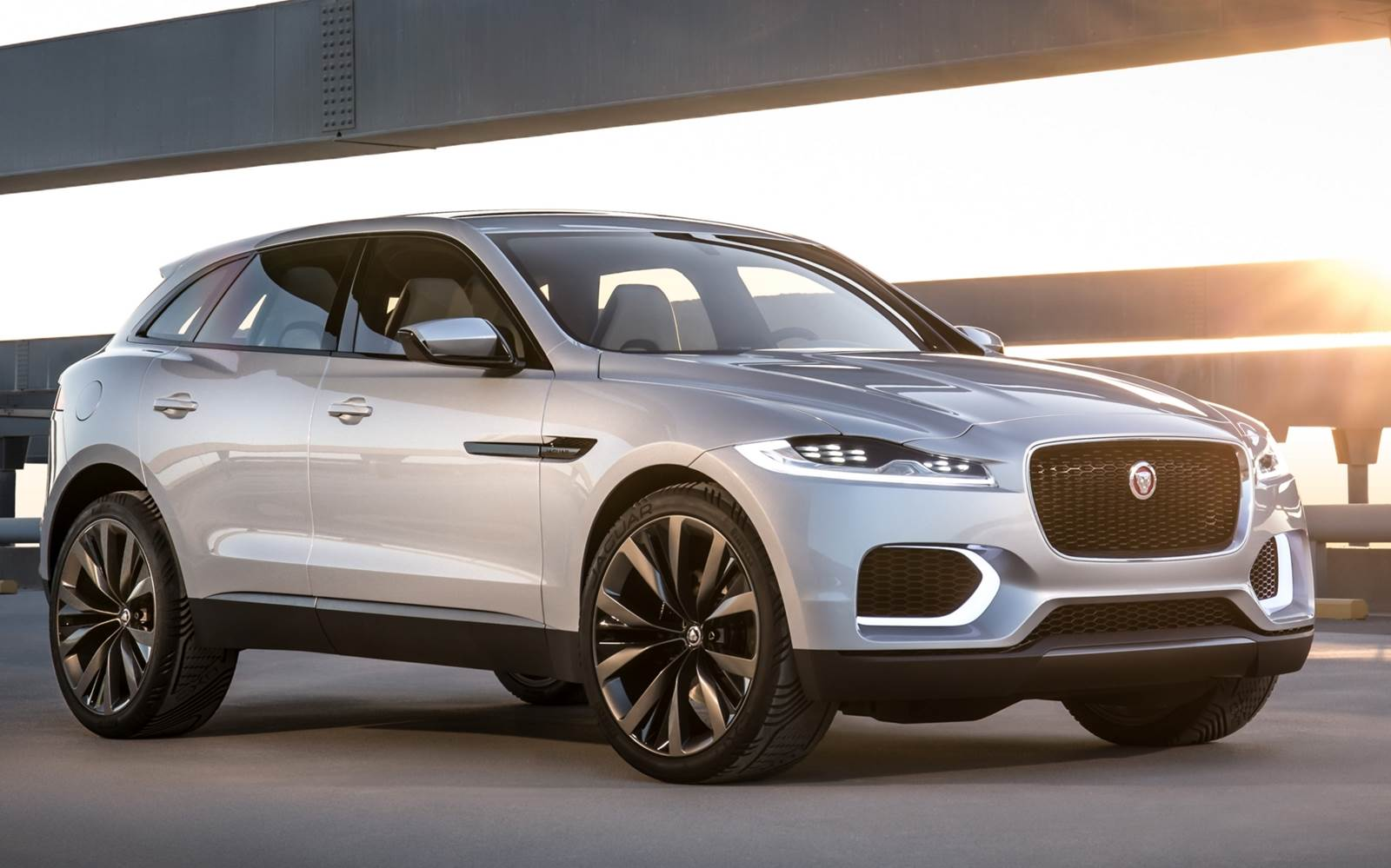 Jaguar F Pace SUV chega em 2016 para encarar o BMW X3