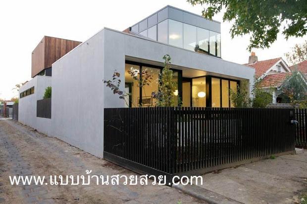 แบบบ้านสวย บ้าน 2 ชั้น    TR202