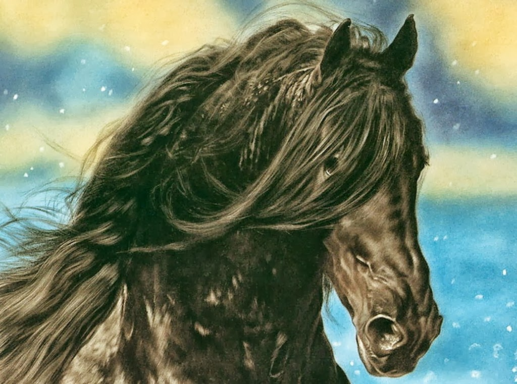 Cuadros modernos hiperrealismo pinturas caballos de - Cuadros espectaculares modernos ...